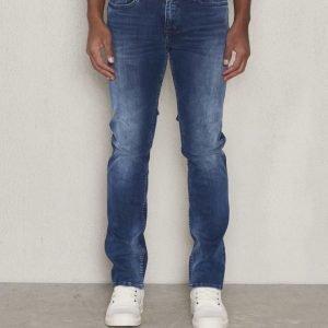 Calvin Klein Slim Straight Elastik Mid
