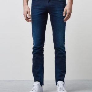 Calvin Klein Slim Straight True Worn Blue