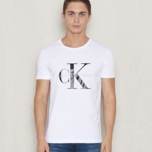 Calvin Klein Tee Re - Issue 112 White