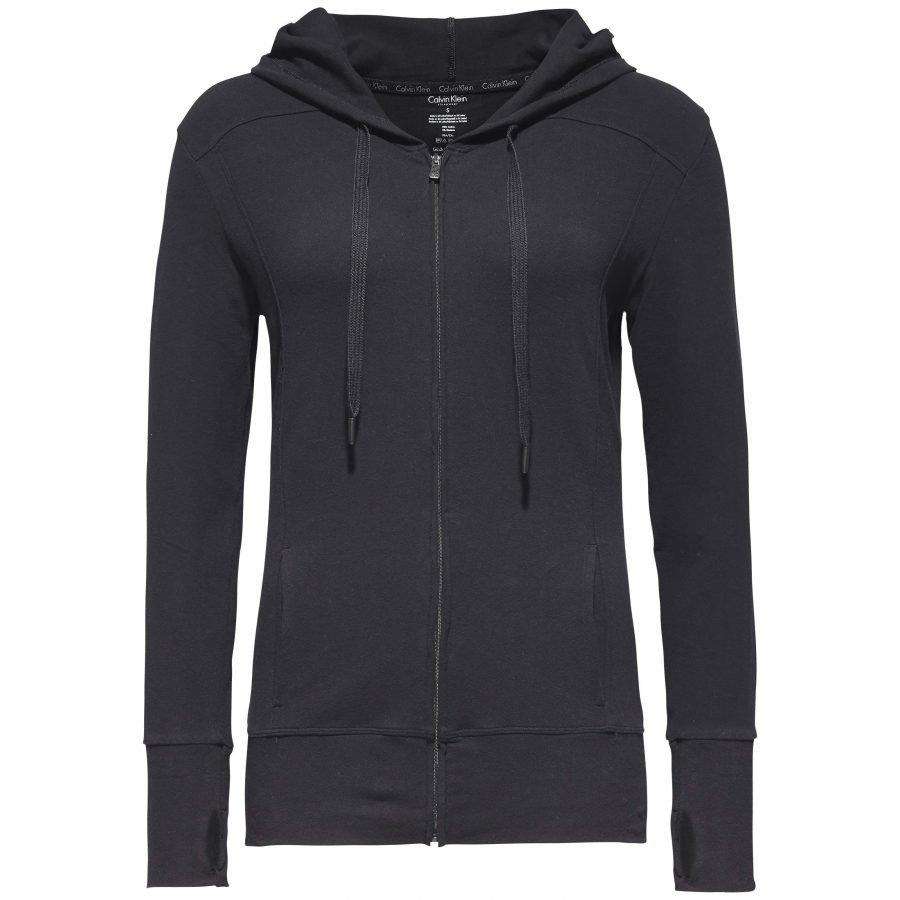 Calvin Klein Top Hoodie Zip Naisten Collegehuppari