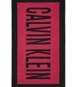 Calvin Klein Towel Merengue Pink/Black