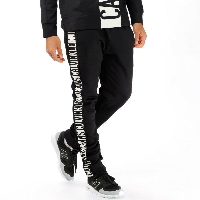 Calvin Klein Track Pant Printed MW -housut