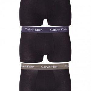 Calvin Klein Underwear 3-Pack Low Rise Trunk Bokserit Multicolor
