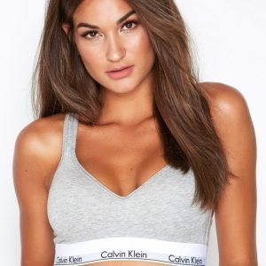 Calvin Klein Underwear Bralette Lift Rintaliivit Harmaa