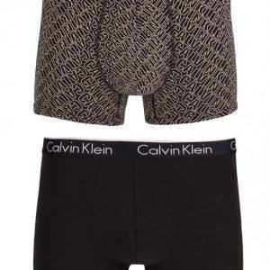 Calvin Klein Underwear CK One 2-Pack Trunk Bokserit Black