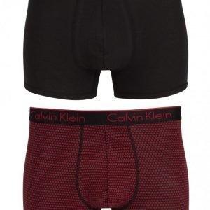 Calvin Klein Underwear CK One Holiday 2-Pack Bokserit Black/Red