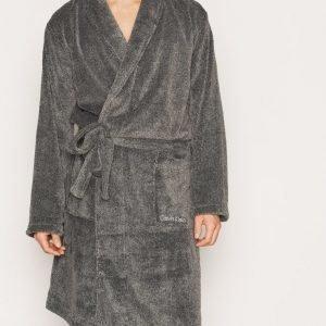 Calvin Klein Underwear Cationic Dye Robe Kylpytakki Grey