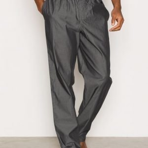 Calvin Klein Underwear Liquid Cotton Sateen PJ Pants Pyjamahousut Charcoal