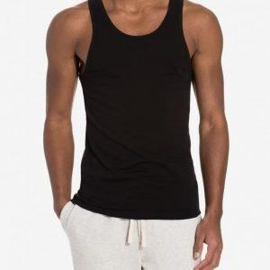 Calvin Klein Underwear Modern Cotton Strech 2-Pack Tank Loungewear Black