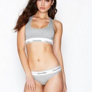 Calvin Klein Underwear Modern Cotton Thong Stringit Harmaa Melange