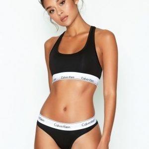 Calvin Klein Underwear Modern Cotton Thong Stringit Musta