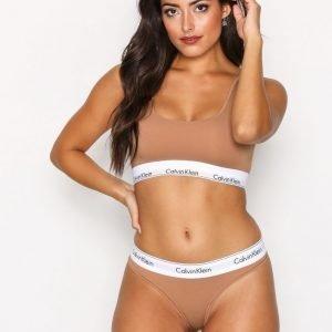 Calvin Klein Underwear Thong Stringit Camel