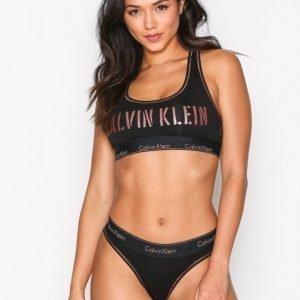 Calvin Klein Underwear Thong Stringit Musta