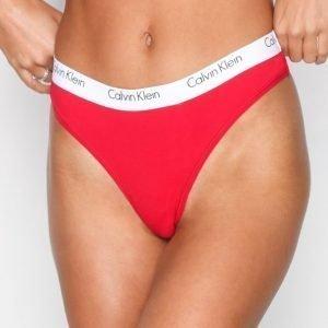 Calvin Klein Underwear Thong Stringit Punainen