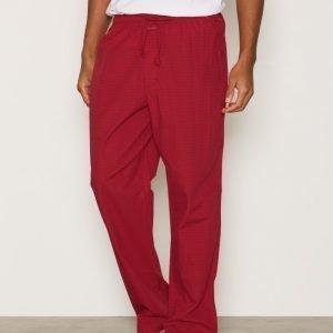 Calvin Klein Underwear Woven Key Item Pants Pyjamahousut Red