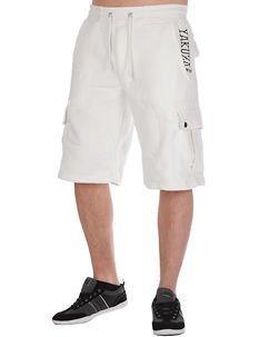 Cargo Shorts White