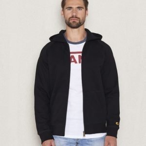 Carhartt Hooded Chase Jacket Black/Gold