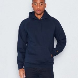 Carhartt Hooded Chase Sweatshirt Navy/Gold