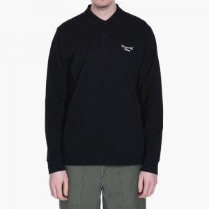 Carhartt Long Sleeve Hand Script Pique Polo
