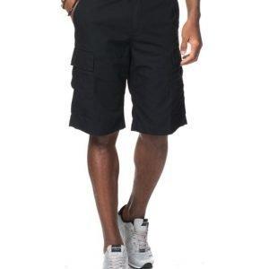 Carhartt Regular Cargo Shorts Black Rinsed