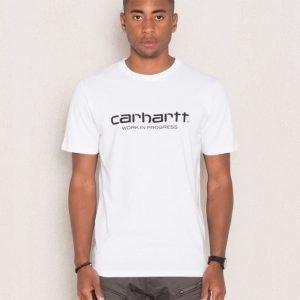 Carhartt S/S Wip Script White/Black