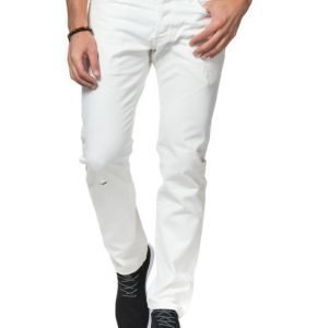 Carhartt klondike Pant II White Destroy Washed