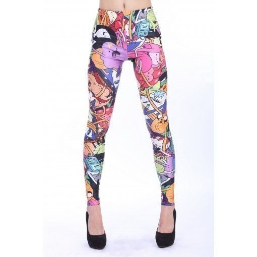 Cartoon AD Leggings Tights