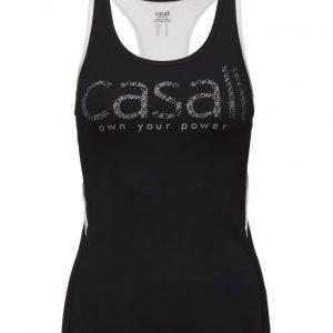 Casall Logo Power Tank urheilutoppi