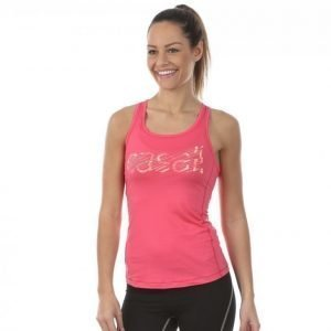 Casall Logo Tank Treenitoppi Roosa