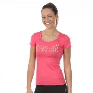 Casall Logo Tee Treenipaita Roosa