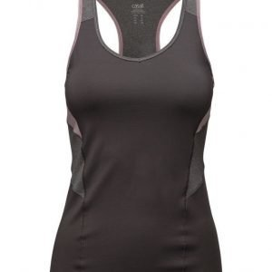 Casall Melange Contrast Racerback urheilutoppi