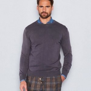 Castor Pollux Cottonius Brown Sweater Stonewashed