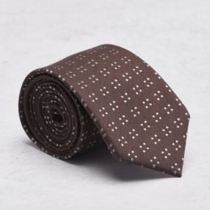 Castor Pollux Croatus Tie Brown Dots