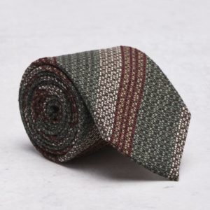Castor Pollux Croatus Tie Red/Green Striped