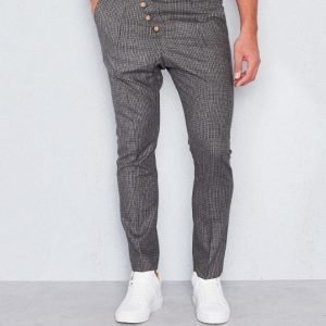 Castor Pollux Feulos Trousers Brown Small Check