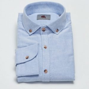 Castor Pollux Filipos Shirt Blue Oxford