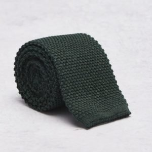 Castor Pollux Knitteus Tie Knitted Green