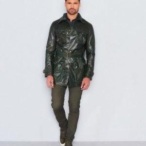 Castor Pollux Leather Dark Green