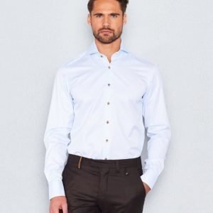 Castor Pollux Narcissus Shirt Light Blue Micro Structure