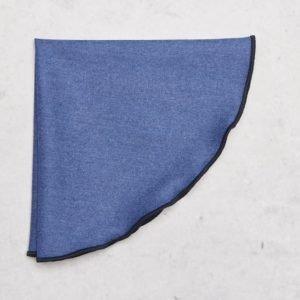 Castor Pollux Panni Hankie Blue
