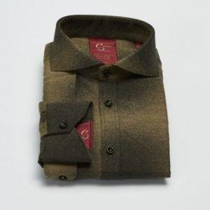 Castor Pollux Paros Shield Shirt Green Flannel