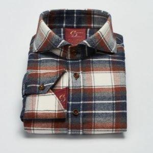 Castor Pollux Paros Shirt Multicolour Check Flannel