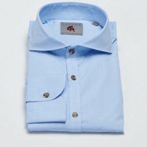 Castor Pollux Piros Shirt Blue Small Check