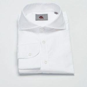 Castor Pollux Piros Shirt White Poplin