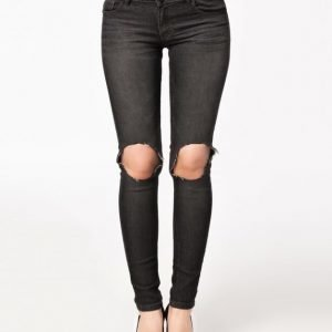 Catwalk88 Busted Knee Jeans