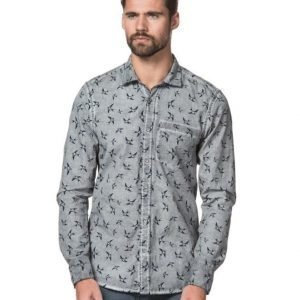 Cause & Consequence Bowen Washed Shirt Oil Wash