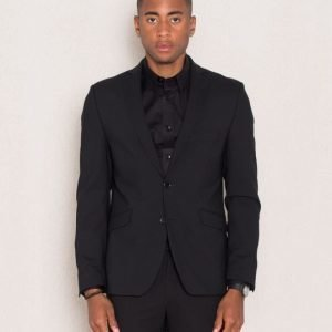 Cause & Consequence Hamilton Slim Blazer Black