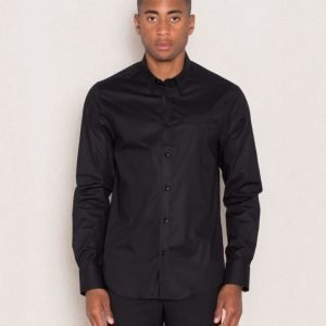 Cause & Consequence Henrik Shirt Black