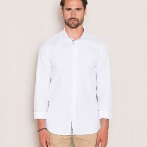 Cause & Consequence Ulrich Oxford Shirt White