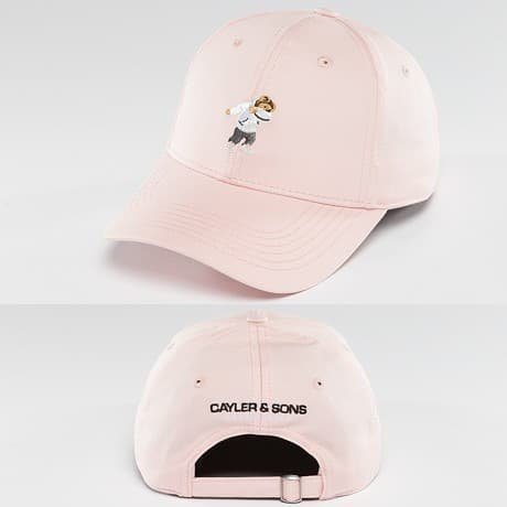Cayler & Sons Snapback Lippis Roosa